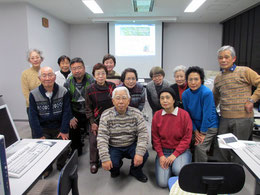 きさらぎ教室 2015年1月撮影