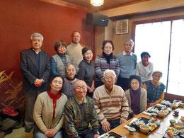 きさらぎ新年会 2015年2月撮影