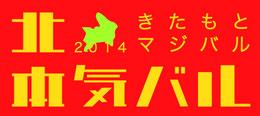 2014年の北本の街バル「きたもとマジバル」公式ホームページへのリンク