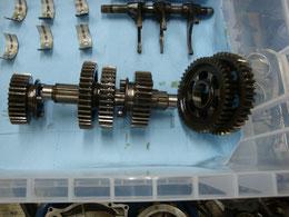 CB750エンジンオーバーホール
