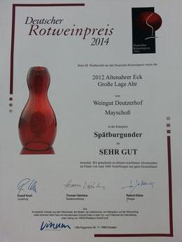 Weingut Deutzerhof Spätburgunder Altenahrer Eck