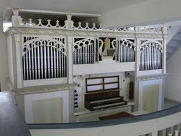 Orgel eines unbekannten Erbauers aus dem 19. Jh.
