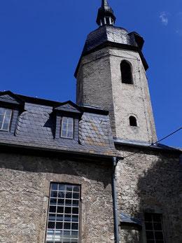 Ansicht der Krippendorfer Kirche von Osten