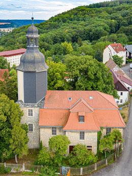 Die Winzerlaer Kirche ist die Hauptkirche der Dietrich-Bonhoeffer-Gemeinde