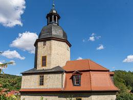 Kirche Neuengönna von Westen