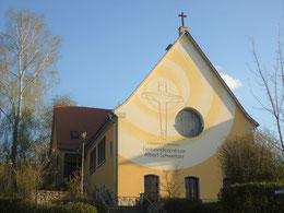 Albert-Schweitzer-Gemeindezentrum mit neuer Fassade