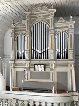 Orgel des Stadtilmer Orgelbauers August Müller (1911)