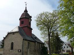 Außenansicht Kirche St. Hubertus von Osten