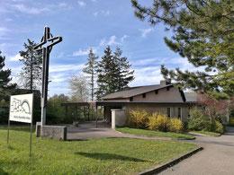 Eines der wenigen Kirchenneubau-Projekte der DDR, das Martin-Niemöller-Haus