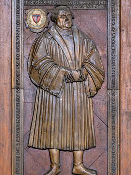 Original-Grabplatte von Martin Luther