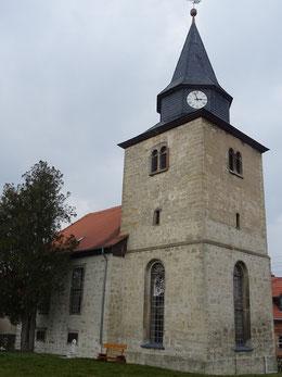 Blick auf die Kirche Christi-Himmelfahrt Zimmritz
