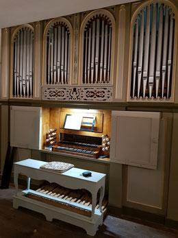 Orgel der Gebrüder Peternell aus Seligental bei Schmalkalden