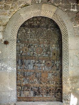 Einzigartige originale Tür von 1223