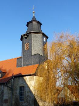 Ansicht der Kirche von Südost