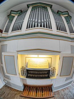 Gerhard-Orgel, Dorndorf 1820