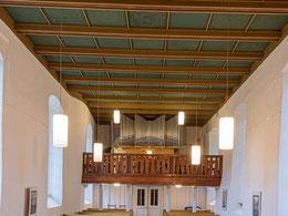 Moderner Orgelprospekt von 1971