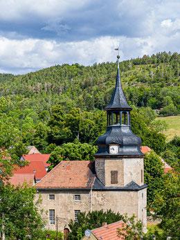 Ansicht der Kirche von Süden