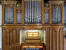 Orgel von Adolph Poppe, 1855
