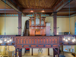 Orgel von Johann Georg Fink (1709)
