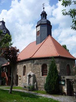 Die umfangreich sanierte Kirche von Lehesten