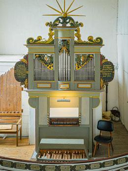 Restaurierte Gerhard-Orgel von 1764
