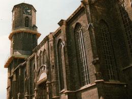 Von Krieg und Braunkohle gezeichnet, altes Satteldach nicht sichtbar, 1997