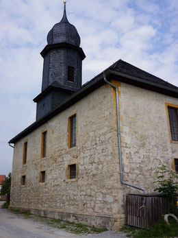 Außenansicht der Schorbaer Kirche von Südosten