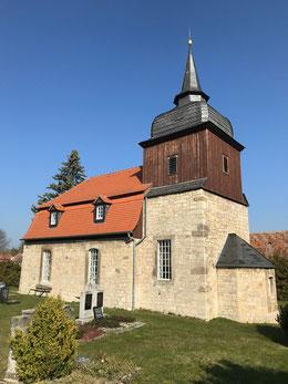 Kirche St. Nikolai Ottstedt von Südost