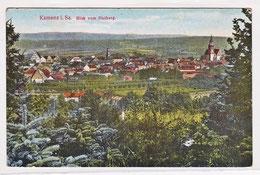 Kamenz - Stadtansicht um 1915, alte gelaufene Ansichtskarte