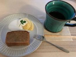 mahanaカフェのパレオケーキ