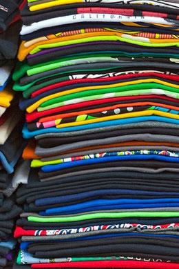 Textildruck bei Foto-Klapproth in Wolfenbüttel.