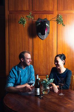 Foto von Jérôme Baschung und Nadine Bielitz, Inhaber des Convivio