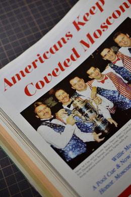 モスコーニカップでよく勝っていた頃のアメリカチーム