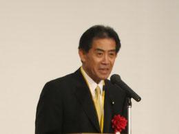 逢沢一郎衆議院議員の祝辞
