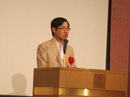 中国四国農政局の田野井雅彦局長の祝辞