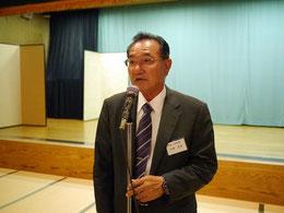 高知県技術士会の山本副幹事長による中締め