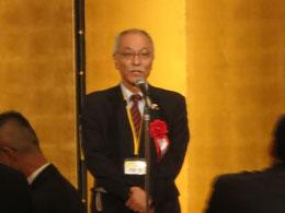 中国本部の伊藤徹副本部長による乾杯