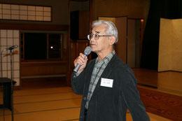 司会役をされる高知県技術士会の森直樹幹事