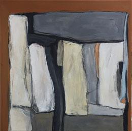 Farbfelder 10, Acryl, 40 x 40 cm, 2019