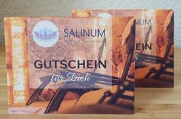 Gutscheine für die Salzgrotte am Beispiel der Salzgrotte SALINUM in Hagen