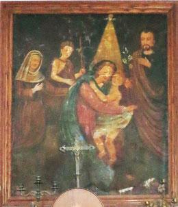 Sant'Andrea di Bozio- chapelle St-Roch