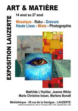 expo Art et Matière - Lauzerte - 2014