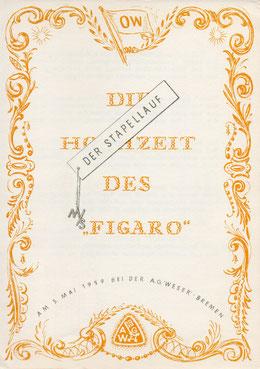 Stapellaufgedicht M.S. Figaro