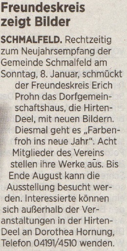 Segeberger Zeitung 07.01.2017