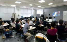 静岡文化芸術大学の学生の難民報告会