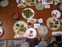 伊勢海老と精進料理