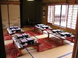 天徳寺内の食事