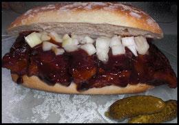 McRibless...schmeckt perfekt mit der BBQ-Sauce