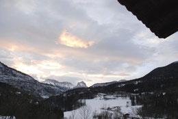 gite vacance hiver alpes