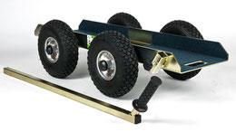 TS 500 Air Tandem Glastransportwagen bis 500 kg Tragkraft